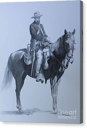 Cilvil War Soldier   Two Canvas Print by David Ackerson