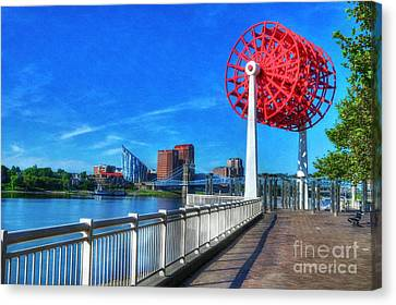 Cincinnati Big Wheel 2 Canvas Print