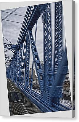 Cincinnati Bridge Canvas Print