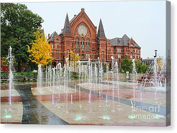 Cincinnati Music Hall 0001 Canvas Print