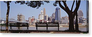 Cincinnati Oh Canvas Print by Panoramic Images