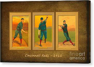 Cincinnati Reds 1911 Canvas Print