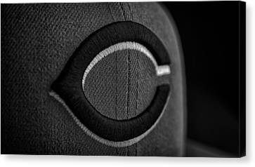 Cincinnati Reds Hat Canvas Print by David Haskett