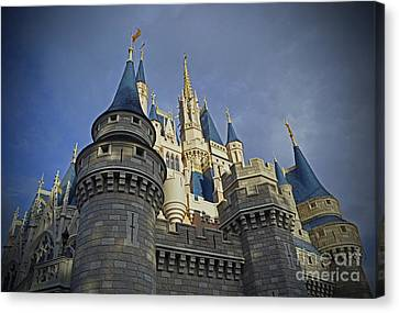 Cinderella Castle - Walt Disney World Canvas Print by AK Photography