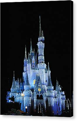 Cinderella's Castle Canvas Print by Robert  Moss