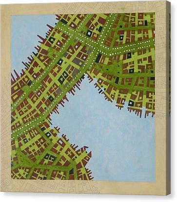 Cipher N. 16 Canvas Print by Federico Cortese