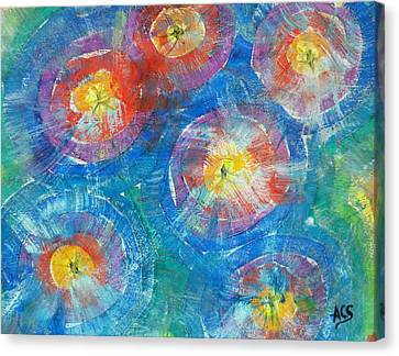 Circle Burst Canvas Print