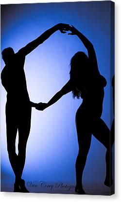 Circle Dance Canvas Print
