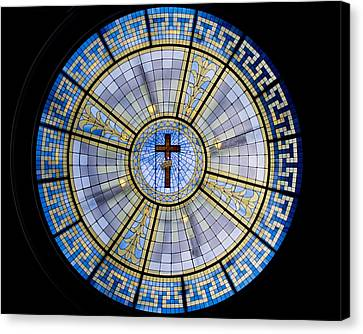 Circle Of Christ Canvas Print by Dee  Savage
