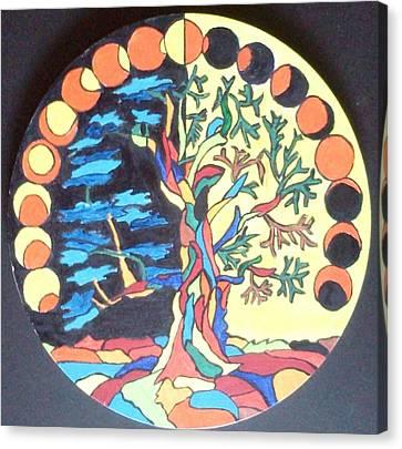 Circle Of Life Canvas Print by Swati Panchal