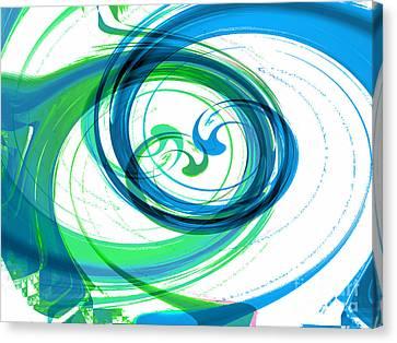 Circling Grace 1 Canvas Print