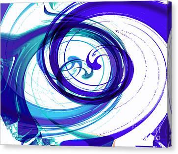 Circling Grace 2 Canvas Print