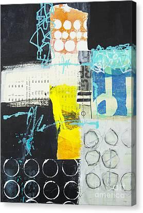 Circular Canvas Print by Elena Nosyreva