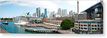 Circular Quay, Sydney, New South Wales Canvas Print by Panoramic Images
