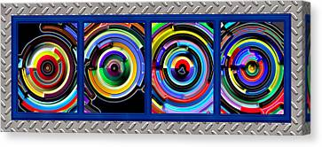 Circulation Canvas Print by Wendy J St Christopher