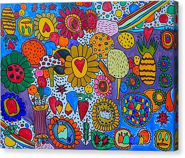 Circus Canvas Print by Artists With Autism Inc