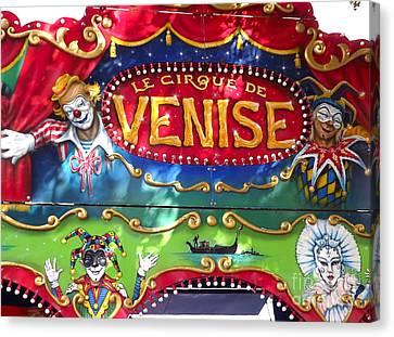 Circus Centerpiece Canvas Print