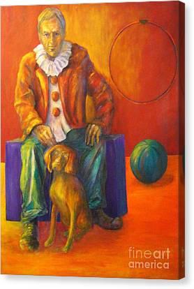 Circus Canvas Print by Dagmar Helbig