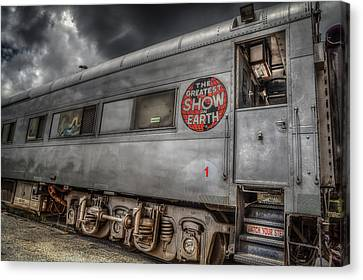 Circus Train Canvas Print by Ray Congrove