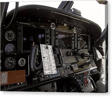 Cirrus S R 22 Cockpit Canvas Print by Daniel Hagerman