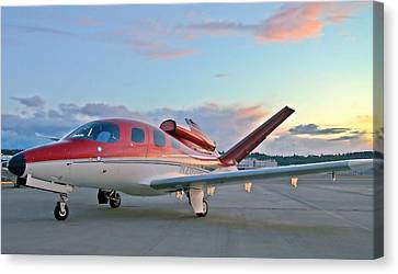 Cirrus Vision Sf50 Canvas Print by Jeff Cook