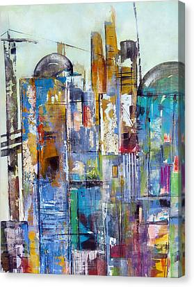 Localities Canvas Print - Cities by Katie Black