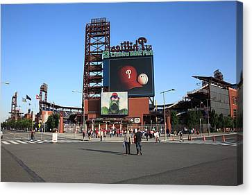 Citizens Bank Park - Philadelphia Phillies Canvas Print by Frank Romeo