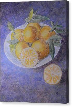 Citrus Canvas Print by Adel Nemeth