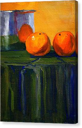 Citrus Chrome Canvas Print