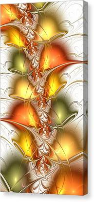 Citrus Colors Canvas Print by Anastasiya Malakhova
