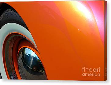 Canvas Print featuring the photograph Citrus Shine by Christiane Hellner-OBrien