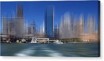 City-art Sydney Circular Quay Canvas Print