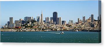 City By The Bay Canvas Print by Kelley King