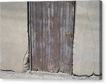 City Door Canvas Print