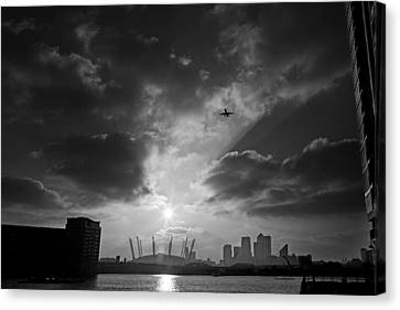 City Flight Canvas Print by David Davies