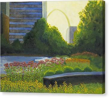 City Garden St. Louis Canvas Print