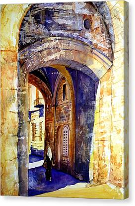 City Gate Canvas Print