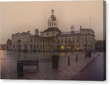 City Hall Kingston Oct 30 2013 Canvas Print