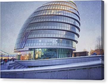 City Hall London Canvas Print by Joan Carroll