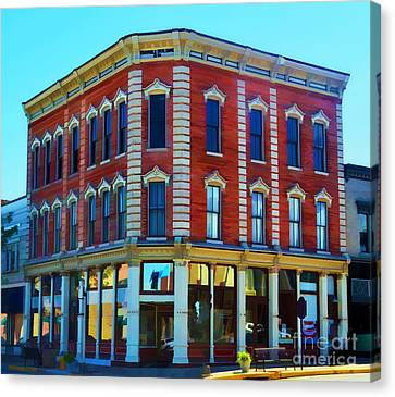 City - Hannibal Missouri - Mark Twain- Luther Fine Art Canvas Print by Luther Fine Art
