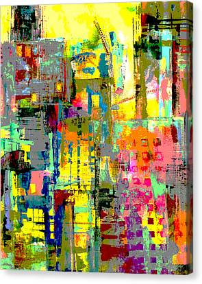 Localities Canvas Print - City by Katie Black