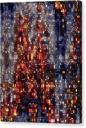 City Lights Canvas Print by David Hansen