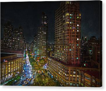 City Lights Canvas Print by Hanny Heim
