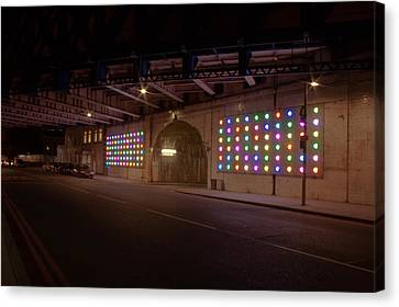 City Lights Canvas Print by Jacqui Collett