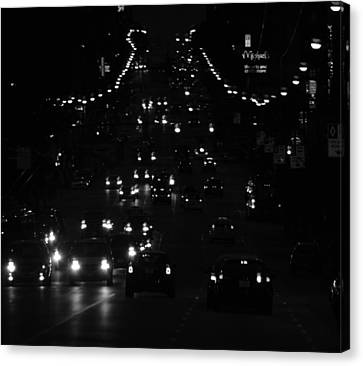 City Nights Canvas Print by Empty Wall
