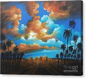 City Of Angels Canvas Print