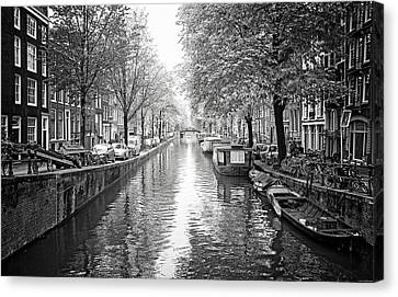 City Of Canals Canvas Print