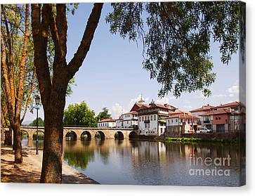City Of Chaves Canvas Print by Carlos Caetano
