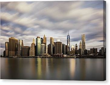 Canvas Print featuring the photograph City Of Light by Anthony Fields