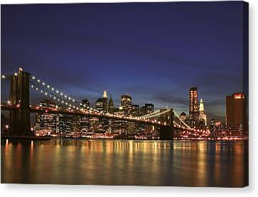 City Of Lights Canvas Print